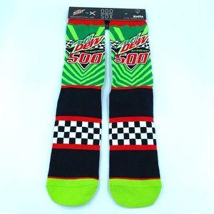 New Odd Sox Mountain Dew Speedway 500 NASCAR Socks